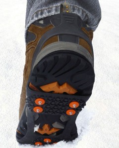 employee ice cleats