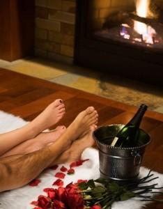 cozy valentine date