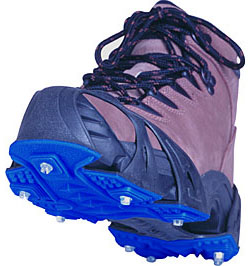 running cleats for snow