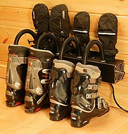 Wall Mounted Two Pair Boot and Glove