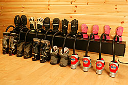 Chinook - Wall Mounted Six Pair Boot And Glove Dryer