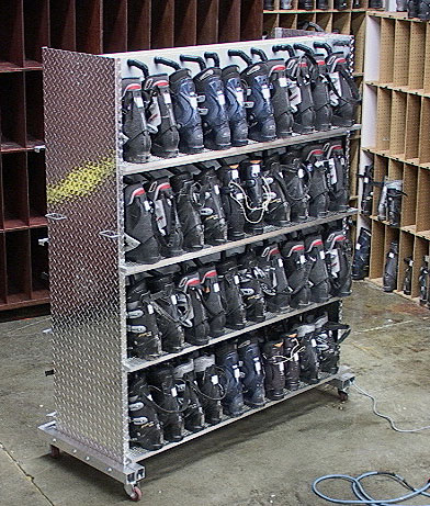 Buy Diamond Plate Commercial Double Sided Boot Dryers At