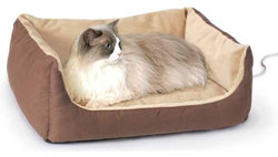 Thermo-Kitty Cuddle Cushion - Heated Cat Bed
