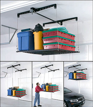 Ceiling and Overhead Garage Lighting Solutions to Light Up! your