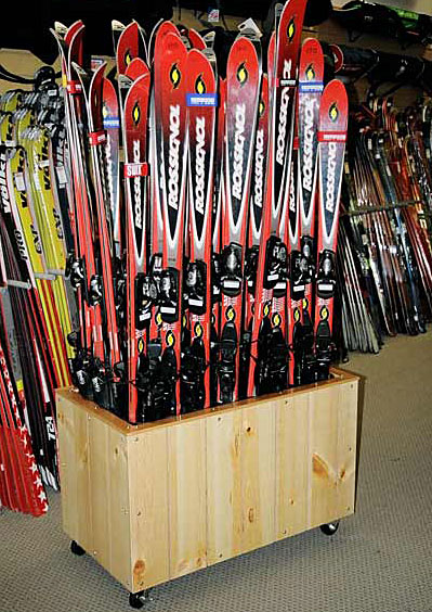 Buy Rax Commercial Ski And Snowboard Storage Racks At