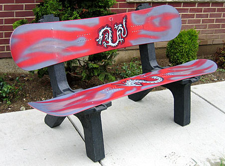 Customize Your Snowboard Bench