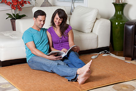 Heated Floor Pad Warming Floor Mat Cozywinters