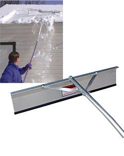 Beautiful Shingle Saver Snow Roof Rake