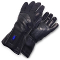 Heated glove liners for skiing