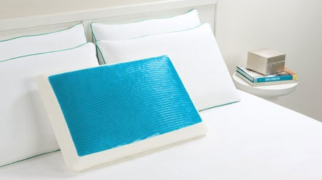 Cooling Gel Pillow Memory Foam Gel Pillow Cozywinters