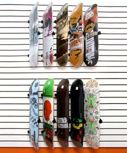 buy bordz up pivoting skateboard display and storage rack at cozywinters