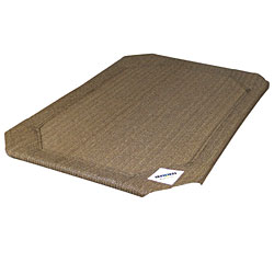 Replacement Covers For Coolaroo Dog Beds, Size Large, Nutmeg