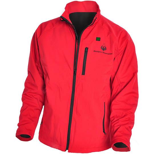 Buy Wyvern Mens 3 Zone Heated Jacket Crimson At Cozywinters