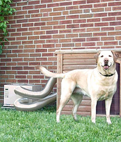 Dog House Heater and Air Conditioner Combo Unit