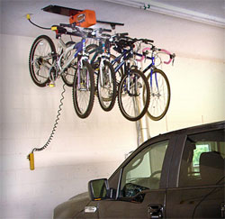 Buy garage gator 125 motorized overhead ceiling storage for Electric motorized storage lift system