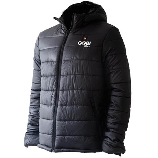 Buy Nomad Mens 5 Zone Heated Puffer Jacket Onyx At