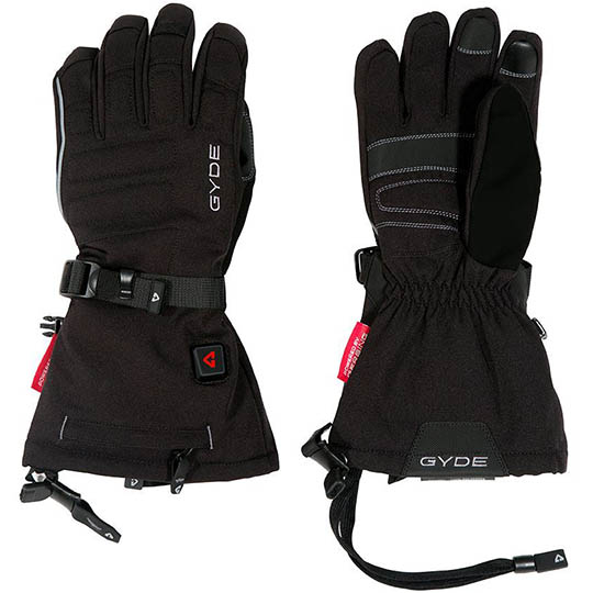 Gyde Heated 7.4V Featherweight Womens Gloves Black Large