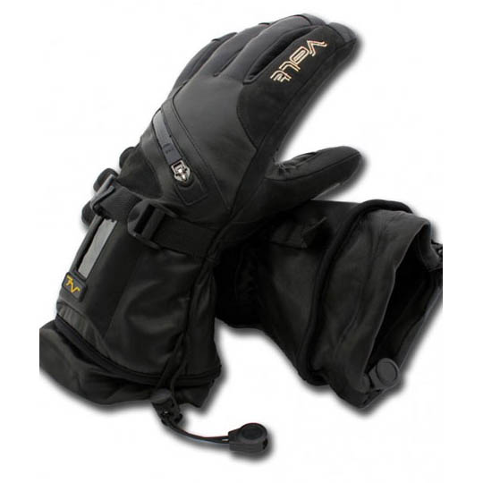 Buy Titan Womens 7v Battery Heated Leather Gloves At