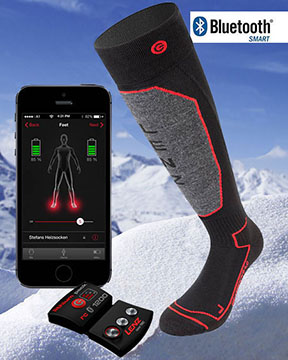 Electric Socks Battery Heated Socks Cozywinters