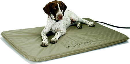Lectro-Soft Outdoor Heated Pet Bed   CozyWinters