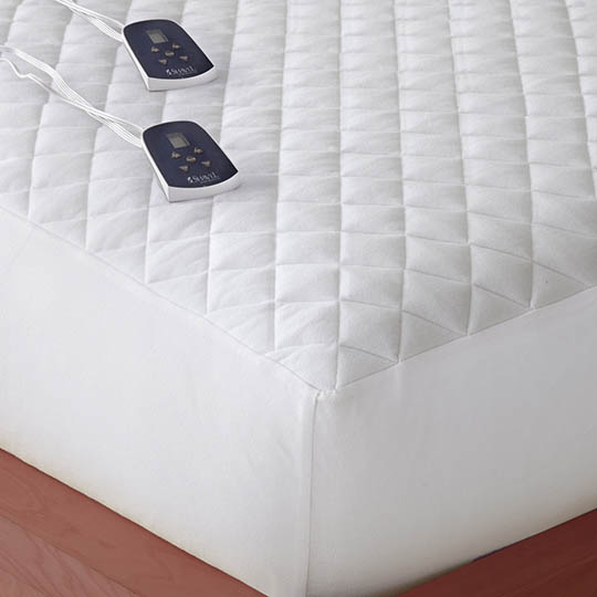 Buy Micro Flannel Electric Heated Mattress Pad At Cozywinters