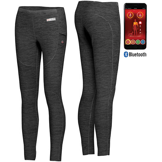 Womens Heated Clothing >> Ion Womens Heated Baselayer Pants With Bluetooth