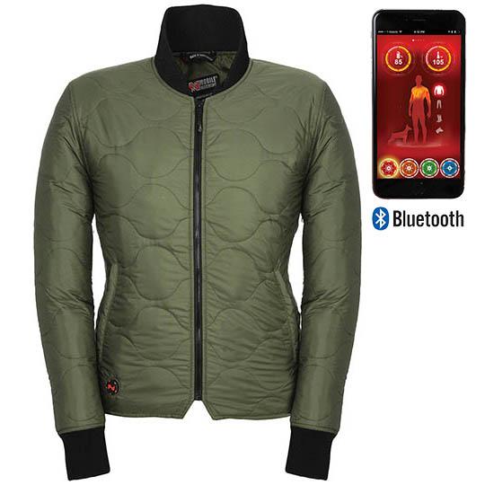 Battery Heated Clothing >> Company Women S Battery Heated Jacket Bluetooth Jacket