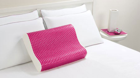 Memory Foam Pillow With Cooling Gel Cozywinters