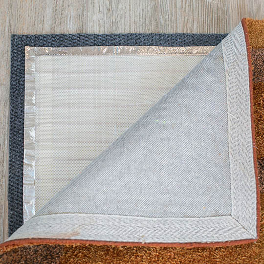 Non-Slip Thermal Insulation Pad for Rug Heat