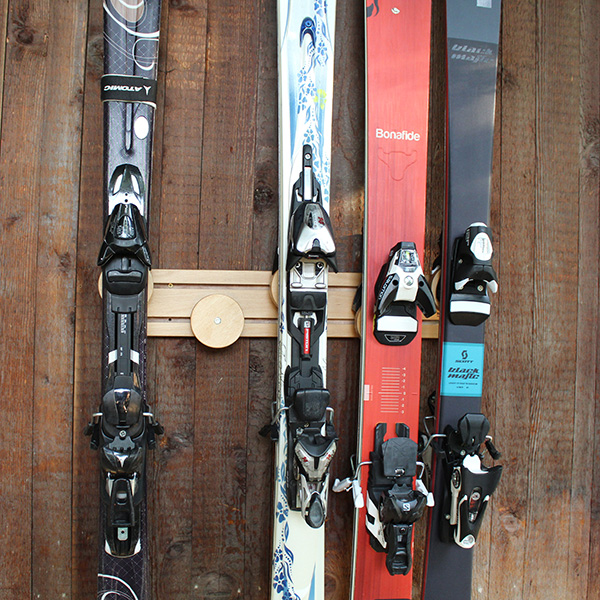 Buy Button Ski Rack 5 Pair At Cozywinters