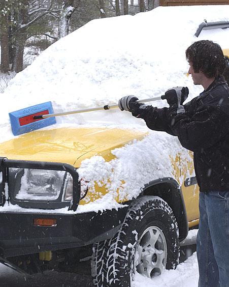 Sno Brum Foam Snow Brush Best Ice Scraper Cozywinters