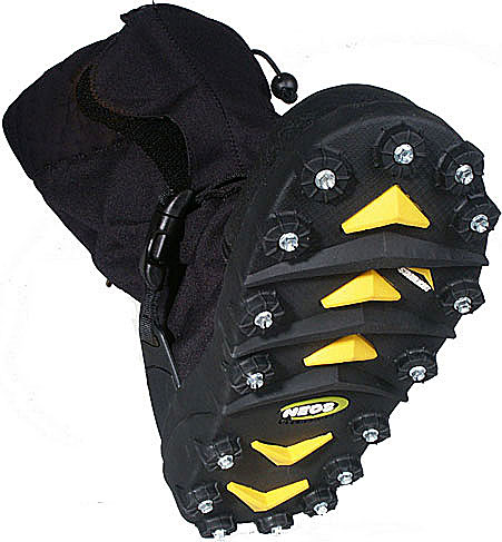 Slip On Ice Cleats Winter Overshoes Cozywinters