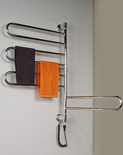 swivel collection jill towel warmer - Heated Towel Rack