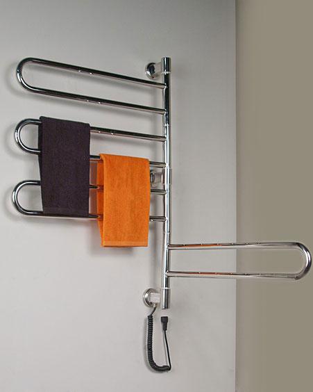 Electric Towel Warmer ~ Buy swivel collection jill towel warmer at cozywinters