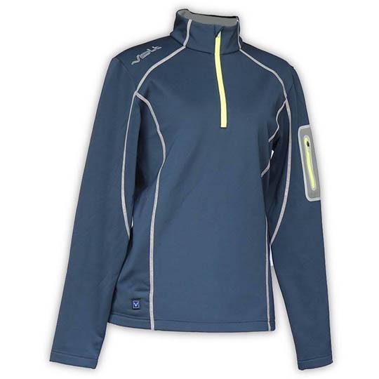 Buy Thz Women S 5v Heated Thermal Half Zip Pullover Navy