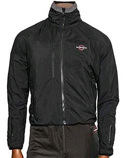 Waterproof   Jacket   Black   Heat   Tall   Size   Men